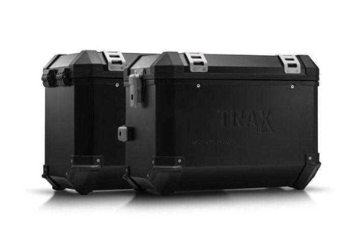 Kompletny Zestaw Kufrów Bocznych Sw Motech Trax Ion I Stelaży