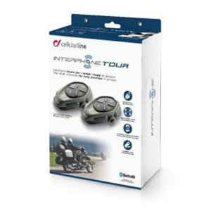Interkom CELLULAR LINE Interphone Tour Twin Pack (2 komplety)